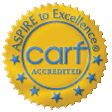 CARF Logo - Mountain Laurel Recovery Center is accredited by CARF - drug addiction rehab  - pennsylvania alcohol rehab center