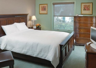 Bedroom - Mountain Laurel Recovery Center - Westfield Pennsylvania alcohol and drug rehab center for men - drug addiction treatment for men - dual diagnosis treatment center
