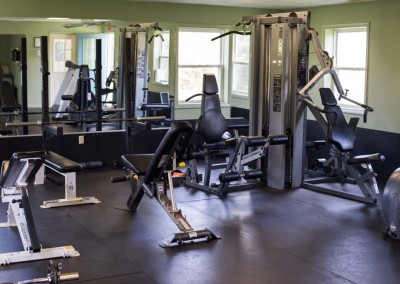 gym - fitness room - Mountain Laurel Recovery Center - Westfield Pennsylvania alcohol and drug rehab center - drug addiction treatment - dual diagnosis treatment center