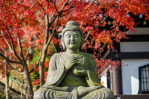 Buddhism and Addiction Recovery - buddha statue - mountain laurel recovery center