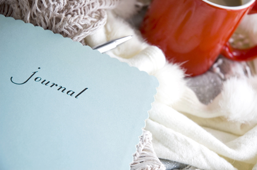 Journaling for Emotional Awareness: A Recovery Exercise - journal book and tea