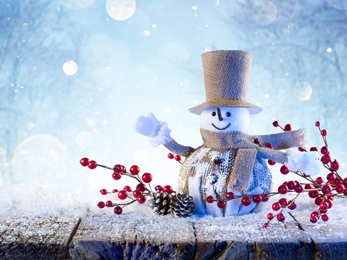 Navigating the Holiday Season in Recovery - holiday snowman