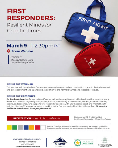First Responders - Resilient Minds for Chaotic Times